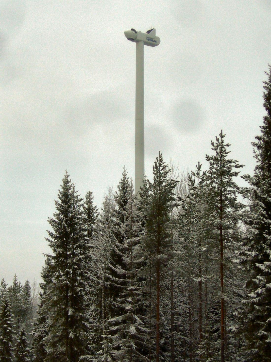 Tuulivoimala Korkeus